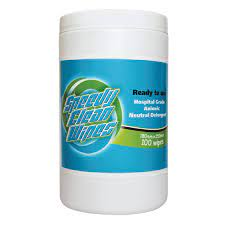 Speedy Clean Wipes 180 X 250 Hospital Grade Neutral Canister (100 pack)
